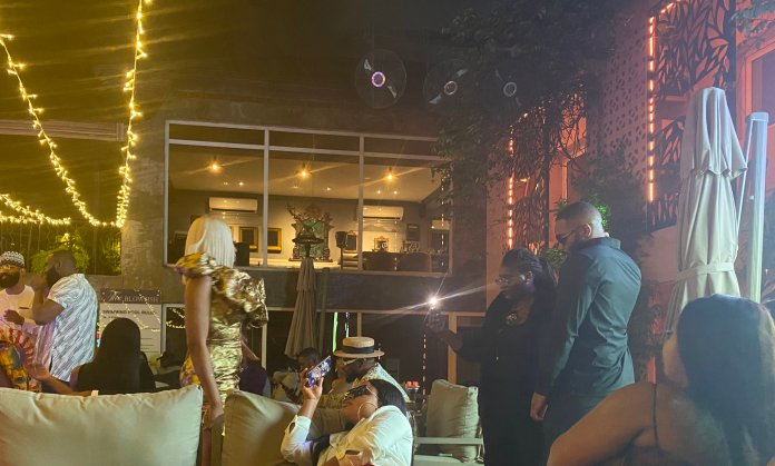 See what Erica & kiddwaya spotted doing at Mercy Eke's birthday (Video)