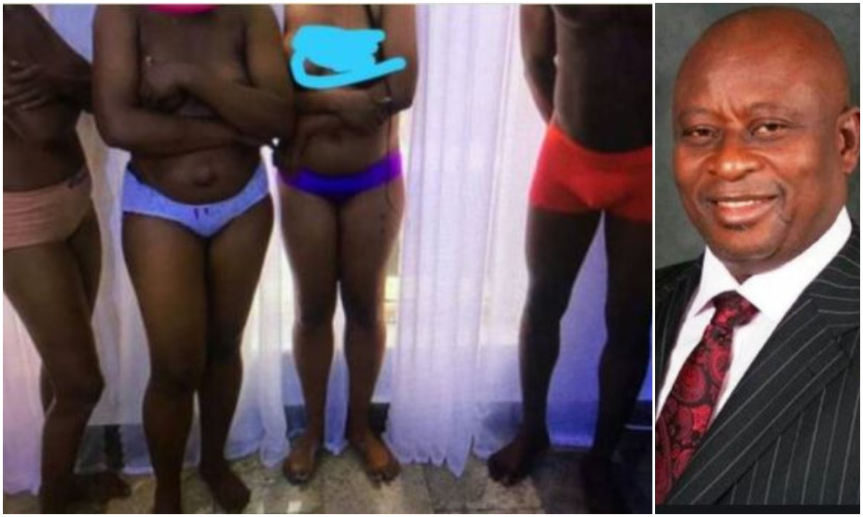 Ex-Minister strips hotel staff  naked for allegedly stealing 5000 Naira