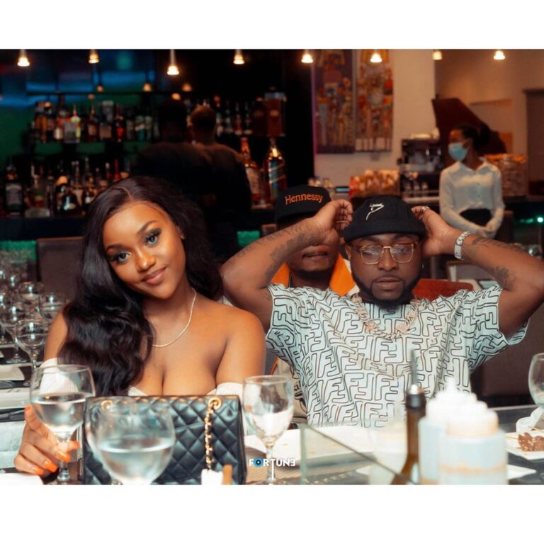 Full pictures of Davido and Chioma private dinner [Photos]