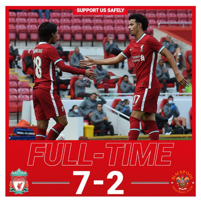 Liverpool vs Blackpool 7-2 – Highlights [DOWNLOAD VIDEO]