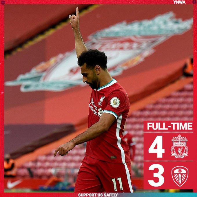 Liverpool vs Leeds 4-3 – Highlights [DOWNLOAD VIDEO]