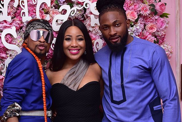 BBNaija: Denrele & Uti surprised Erica with a Party (Pictures)