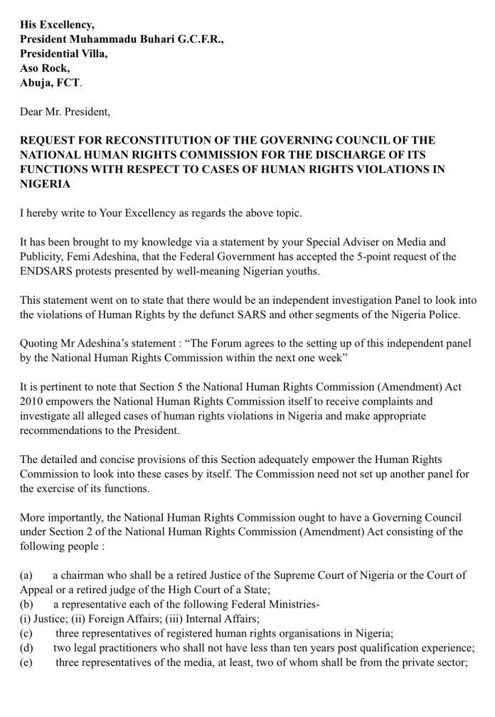 #EndSARS: Falz Open letter to Buhari