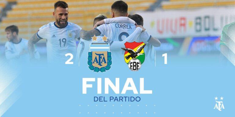 Bolivia vs Argentina 1-2 – Highlights [DOWNLOAD VIDEO]