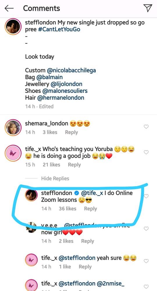 How I learned Yoruba - Stefflon Don, Burna Boy's Girlfriend reveals