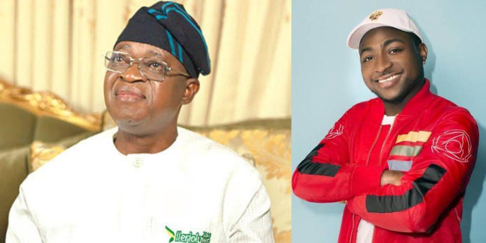 Davido slams Osun state governorDavido slams Osun state governor