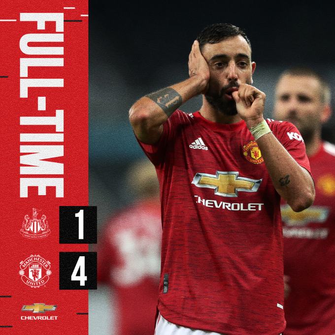 Newcastle vs Manchester United 1-4 – Highlights [DOWNLOAD VIDEO]