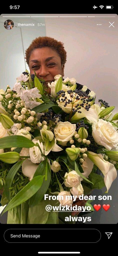 Wizkid gave Burna Boy's mother as surprised birthday gift