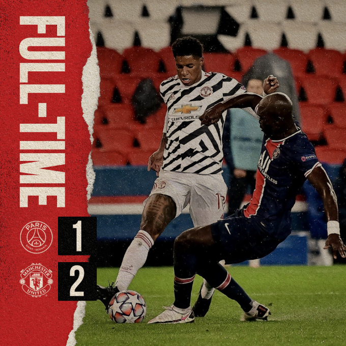 PSG vs Manchester United 1-2 – Highlights [DOWNLOAD VIDEO]