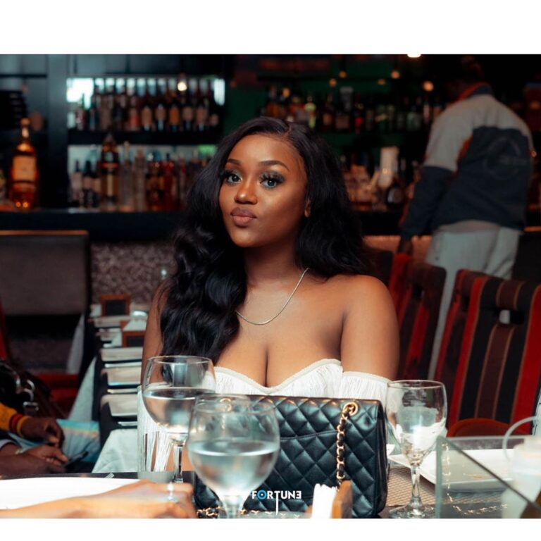 "Davido's lover Chioma opines ""no one is perfect"""