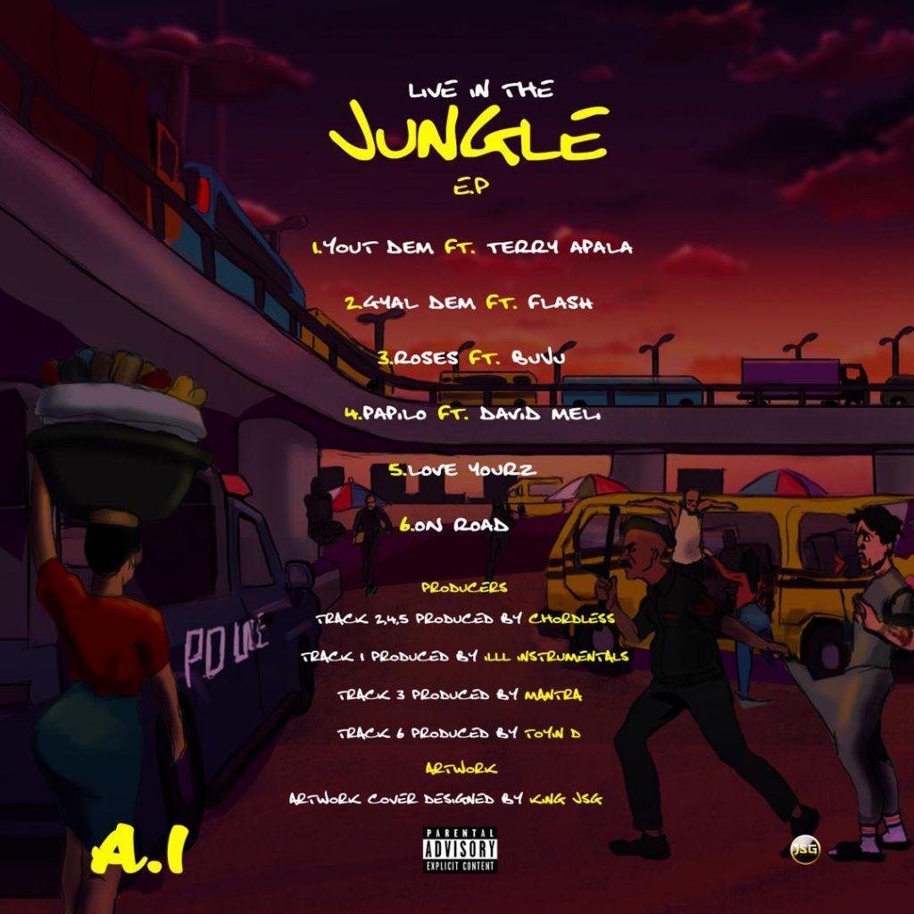 Live In the jungle Tracklist