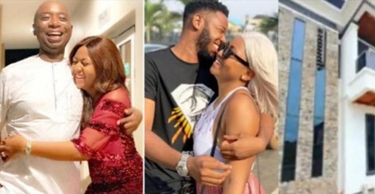 Ned Nwoko Allegedly Compensates Regina Daniels' Ex-Boyfriend, Somadina With Mansion Worth N100M (Video)