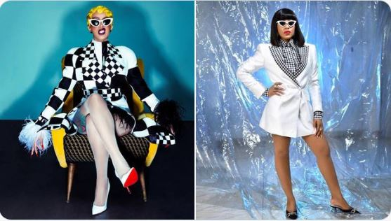 Cardi B Reacts After Being Compared With BBNaija' s Erica (Photo )