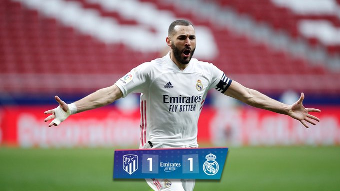 Atletico Madrid vs Real Madrid 1 -1 – Highlights [ DOWNLOAD VIDEO ]